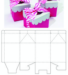 Paper Box Template, Box Templates, Diy Bracelets Easy, Cookie Box, Diy Gift Box, Gift Wrapping Paper, Beaded Jewelry, Diy And Crafts, Wraps