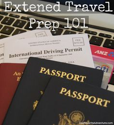 Great to-do list for long-term travel #travel #tips #extended travel