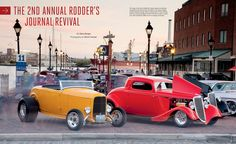 Last fall we hosted the 2nd Annual Rodder's Journal Revival in Baltimore, Maryland. Hundreds of hot rods and customs cruised the streets of the picturesque waterfront city and rumbled down the rural back roads of Maryland, before assembling at the historic Pimlico Race Course.