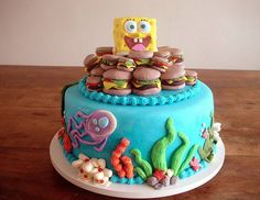 Fun Spongebob Cake