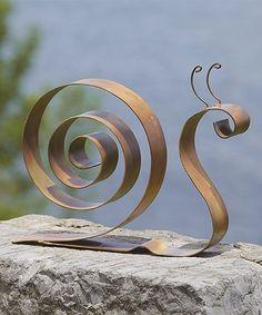 Look at this #zulilyfind! Snail Garden Figurine #zulilyfinds