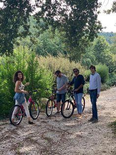Enjoy a bike ride through our vast estate.