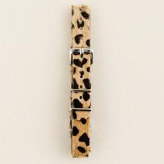 Maybe im into cheetah print this season...?