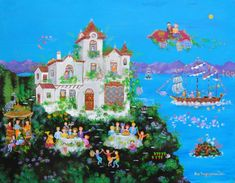 Greek Mythology, Scenery, Contemporary, History, Painting, Inspiration, Biblical Inspiration, Historia, Landscape