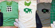 Buffalo Plaid Lucky T-Shirt 14.99 on Jane!
