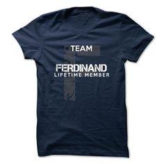 FERDINAND - TEAM FERDINAND LIFE TIME MEMBER LEGEND - #shirt fashion #tshirt kids. TAKE IT => https://www.sunfrog.com/Valentines/FERDINAND--TEAM-FERDINAND-LIFE-TIME-MEMBER-LEGEND-50025465-Guys.html?68278