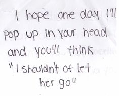theres always a moment when this crosses your mind