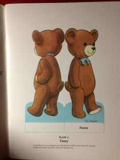 Vintage 1987 Signed Fun with Teddy Bear Paper Dolls by Tom Tierney | eBay