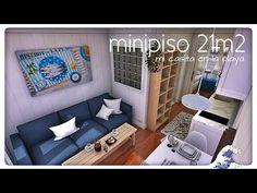 minipiso 25m2 (mi clásico 5x5 reinventado para celebrar mi vuelta) - YouTube