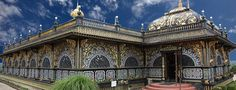 Palace of Gold at New Vrindaban, in Moundsville, WV. Chris said this place was highly adorned