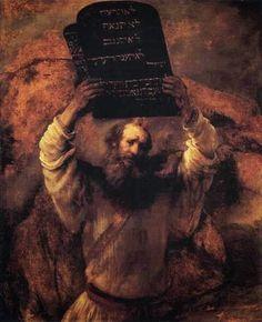 """""""Moisés e as Leis"""" - Rembrandt"""