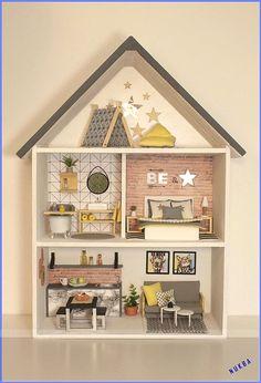Escala 1:12th Artesanal Casa Boneca Miniatura Custom Pc Magazine