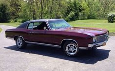 This looks like my first car. 1970 Monte Carlo