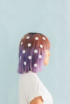 Dotted hair don't ca