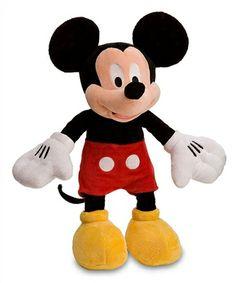 Bichinho de Pelúcia do Mickey Oficial da Disney Store com 45 cm. O pezinho vem com selo bordado de autencidade da loja da Disney - FigoVerde.com.br