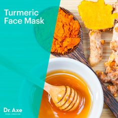 Turmeric face mask - Dr. Axe http://www.draxe.com #health #holistic #natural