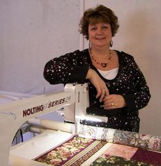 Nolting dealer w/ used stock. Quilter's Paradise, was in Anderson, relocated to Santa Clara