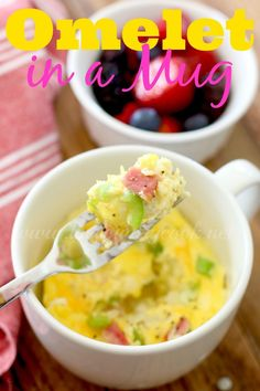 Omelet in a Mug - The Country Cook