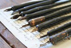 Old dip pens