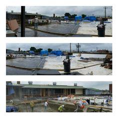 Pool in progress - rooftop pool  1 Scott's Addition  Richmond, VA  APARTMENTS
