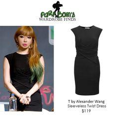 PARK BOM | T by ALEXANDER WANG Sleeveless Twist Dress