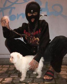 Skii Mask, Fille Gangsta, Thug Girl, Gangster Girl, Grunge Guys, Ski Girl, Cute White Boys, Bad Girl Aesthetic, Boujee Aesthetic
