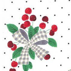 CX4716 Cherries Jubilee by Michael Miller - White