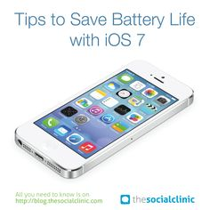 Learn How To Save Battery Life With iOS 7