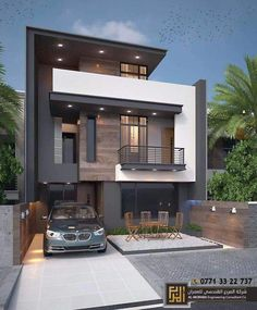 Contemporary Landscape Design Architecture House Ideas For 2019 House Front Design, Modern House Design, Door Design, Window Design, Wall Design, Simple House Design, Paint Colors For Home, House Colors, Wall Colors