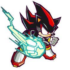 Shadow - Powers - Characters & Art - Sonic Battle