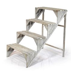 Wooden Four Step Plant Display Stand $26