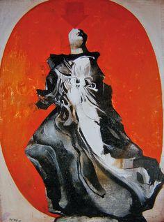 Δημήτρης Μυταράς, Νίκη, 1967. Αθήνα, Συλλογή Υπουργείου Εξωτερικών. Jeff Koons, Conceptual Art, Printmaking, Roman, Contemporary Art, Art Gallery, Fine Art, Artwork, Greece