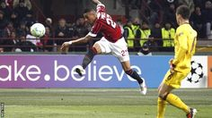 Kevin Prince Boateng's historic goal against Arsenal.