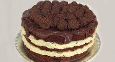 Naked Cake de Chocolate com Recheio de Cocada e Leite Condensado | Creative