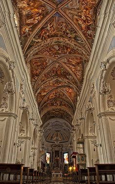 La Basilica Cattedrale di San Bartolomeo, Isla de Lipari, Italia.