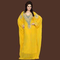 2016 más nuevos musulmanes vestido De gasa con cuentas árabe Dubai marroquí…