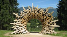 Arte Sella Sculpture park is a suggestive exhibit of Land Art in Trentino. In a magnificent mountain landscape, you can admire famous artists sculptures. Belle Epoque, Hotel Imperial, Environmental Sculpture, Beste Hotels, Mountain Landscape, Land Art, Famous Artists, Mother Nature, Sculptures