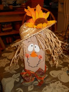 DIY Rustic Halloween Decoration Ideas For The Brave Hearted - Gravetics Rustic Halloween, Fall Halloween, Halloween Crafts, Halloween Decorations, Brick Crafts, 2x4 Crafts, Thanksgiving Crafts, Fall Crafts, Holiday Crafts