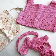 Best 12 – Page 846958273652909075 – Skil - Diy Crafts - Qoster Chat Crochet, Crochet Yoke, Diy Crochet, Crochet Bikini, Crochet Hats, Granny Square Häkelanleitung, Granny Square Crochet Pattern, Crochet Patterns, Baby Bikini