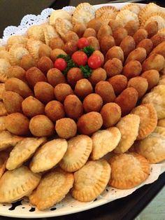 Croquetas y pastelitos. Sabordehogar.rd@gmail.com