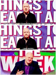 Unlikely things to hear at an awards show British Humor, British Comedy, Andy Parsons, Mock The Week, Lineup, Comedians, Irish, Funny Stuff, Awards
