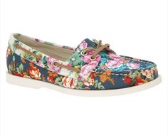 floral Sperry!