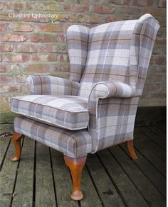 Detail Around Feet Image Result For Plaid Parker Knoll