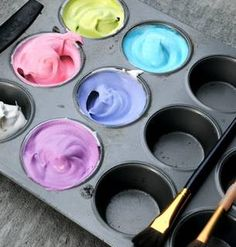 Painting With Cool Whip? What A Cool DIY Idea!