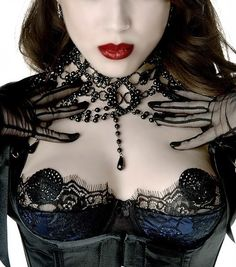 Love the pasties with the lace just slightly below