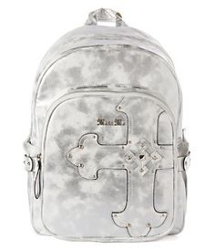 Miss Me Back to Cool Metallic Cross Backpack | Dillard's Mobile