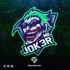 Vector art design logos 51 ideas for 2019 Team Logo Design, Logo Desing, Mascot Design, O Joker, Joker Logo, Logo D'art, Inspiration Logo Design, Esports Logo, Instagram Design