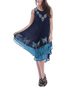 Womens Paisley Embroidered Dresses 100Navy >>> Learn more by visiting the image link.