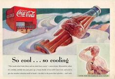 Ar collection of Old Coca cola ads and posters. Ar collection of Old Coca cola ads and posters. - Creative, Interesting - Check out: Awesome Vintage Coca-Cola Advertisement Posters on Barnorama Coca Cola Poster, Coca Cola Drink, Cola Drinks, Coca Cola Ad, Always Coca Cola, Coca Cola Vintage, Vintage Advertisements, Vintage Ads, Vintage Posters
