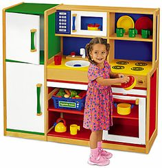 Lakeshore's Pretend & Play Combo Kitchen gives kids maximum play value…in a minimum of space!
